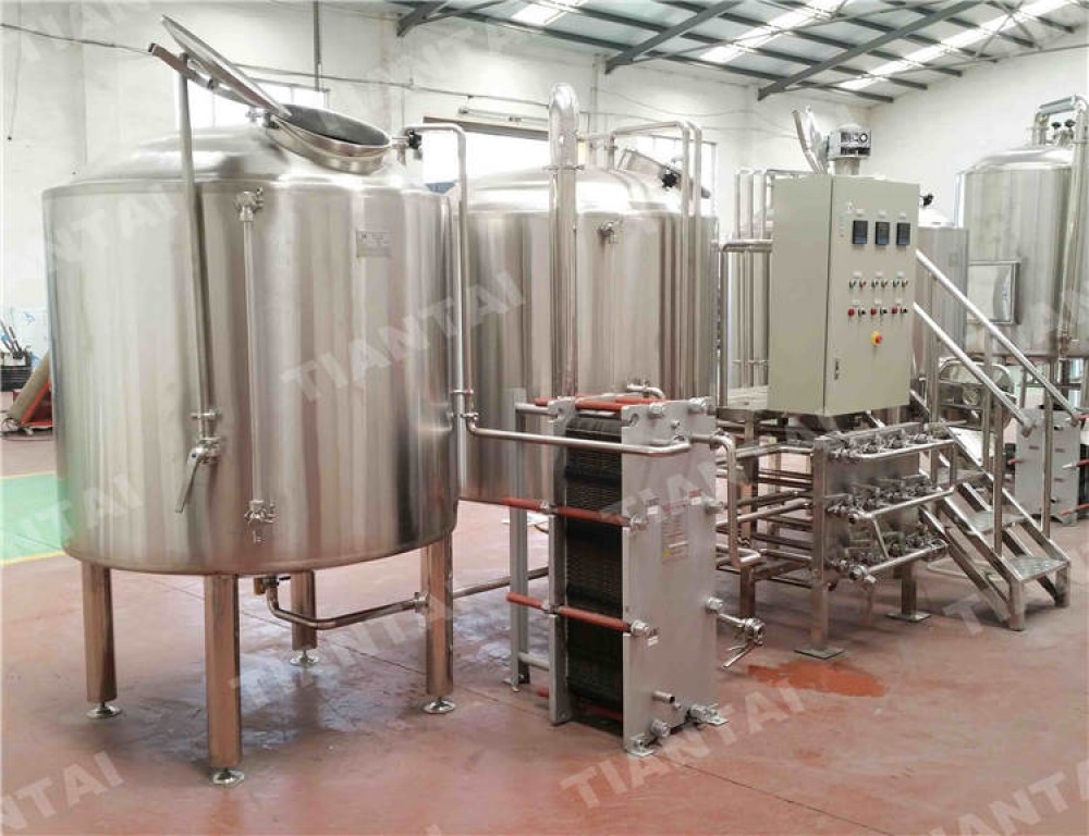 Import export jinan 5 bbl electric brewhouse with ce for Brewery layout software