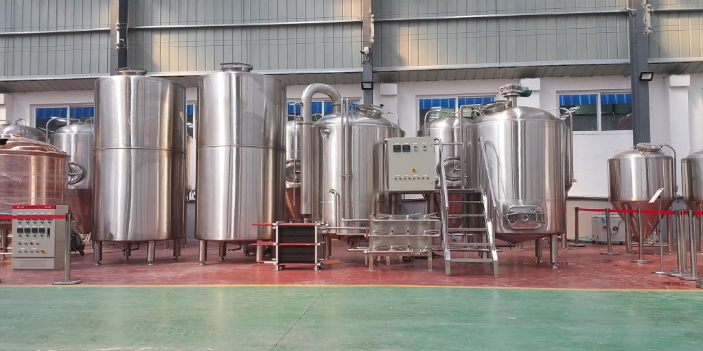 Import Export Jinan 7 Bbl Brewpub Beer Brewing System
