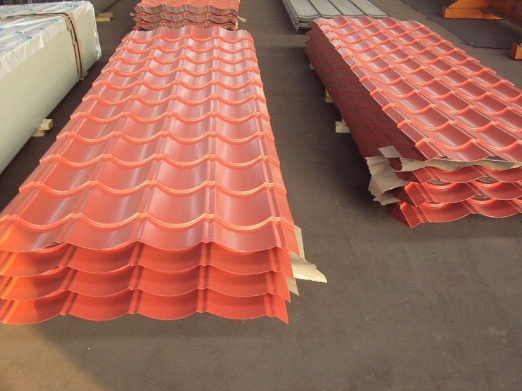 Import Export Qingdao Color Coated Steel Sheet Corrugated
