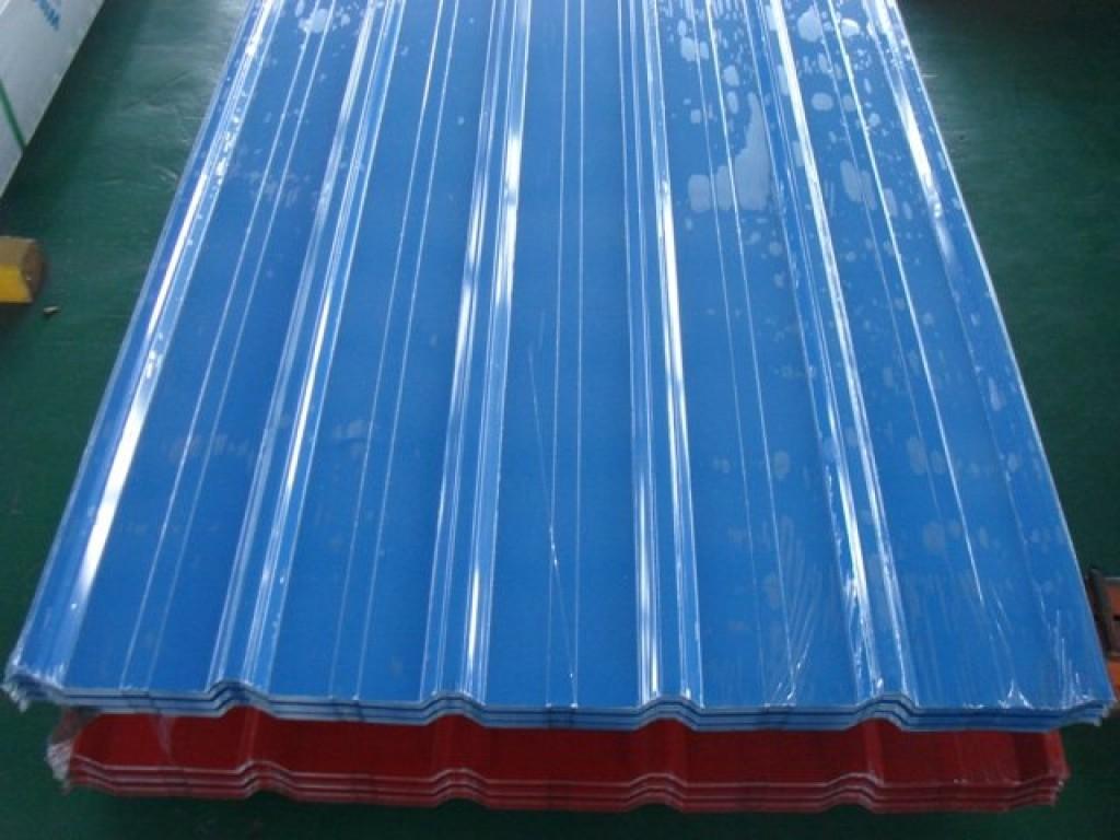 Import Export Qingdao Color Coated Steel Sheet Corrugated