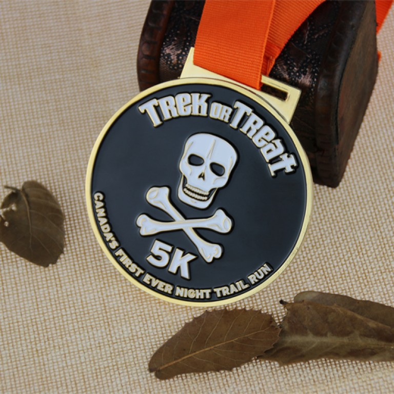Import Export California: Custom Race Medals for Night Trail
