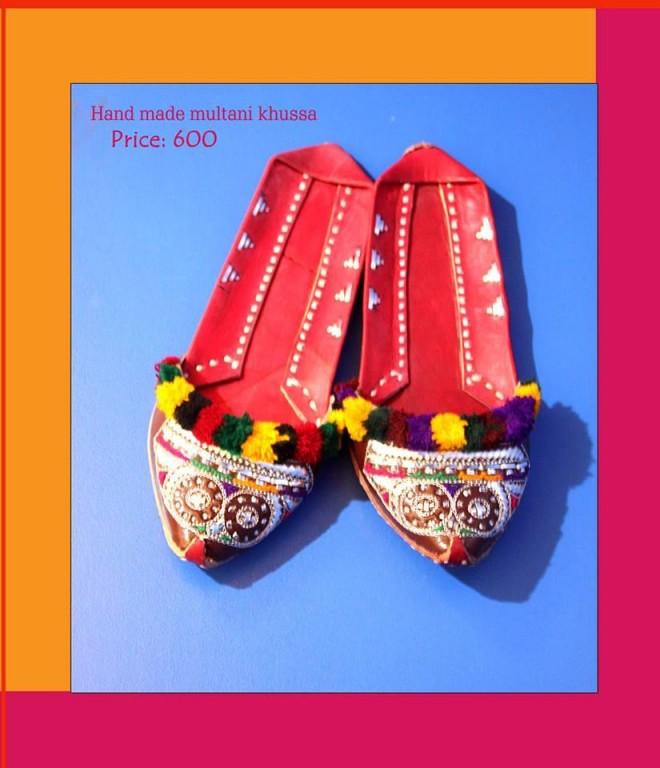 Import Export Lahore Hand Made Multani Khussa For Women