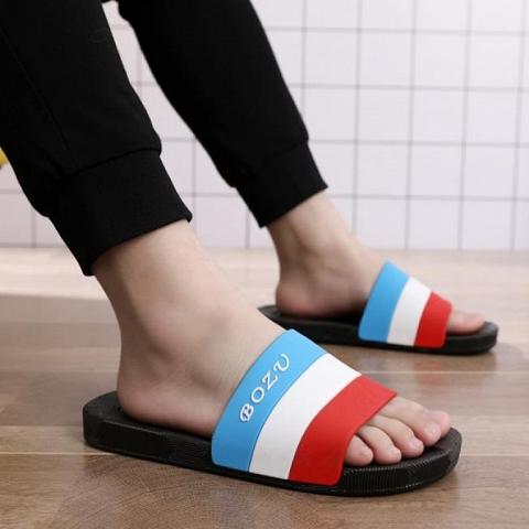 custom leather flip flops