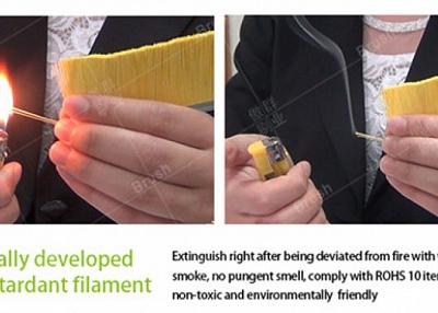 Buy Flame Retardant Escalator Safety Brush? Contact AOQUN