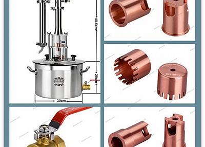 Home distilling equipment alcohol distillation moonshine still