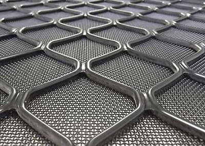 Aluminum Security Mesh