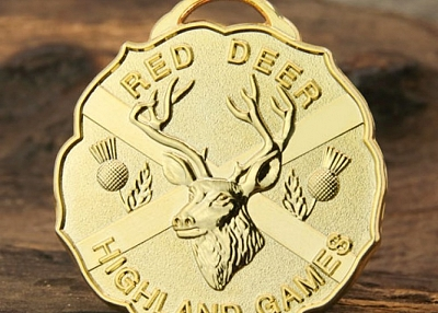 Red Deer Highland Games Custom Medals