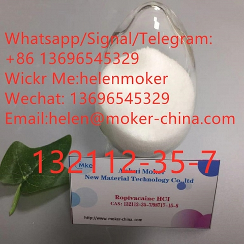 High Quality Ropivacaine Hydrochloride /HCl CAS 132112-35-7 with Best Price