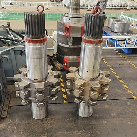 Supply High Quality Alloy Steel Hot Forgings for Mining Machinery