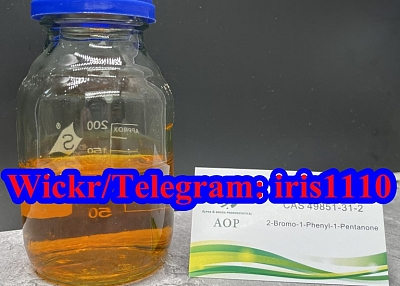 49851-31-2 High purity 2-Bromo-1-phenyl-1-pentanone, iris@whaop.com
