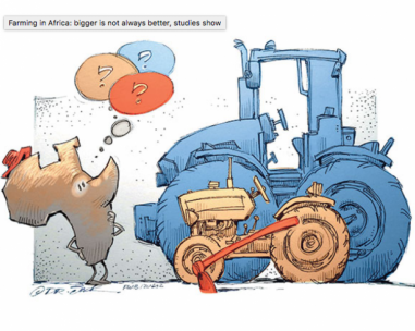 A challenge to manage new farming in Africa?