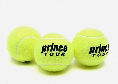 case of tennis balls