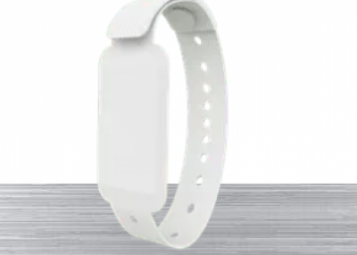 Cut-off Alert Wristband beacon