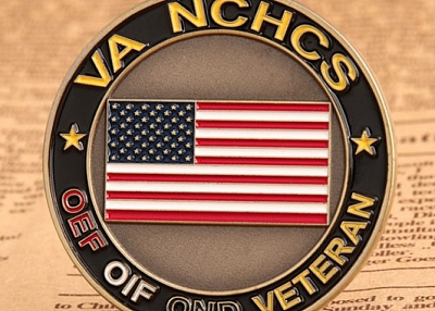 Military Challenge Coins | VA NCHCS Veteran Challenge Coins