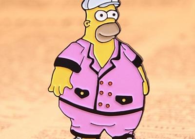 Simpson custom enamel pins