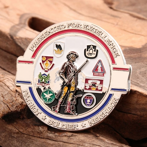 Custom Challenge Coins | 96th Troop Command Challenge Coins