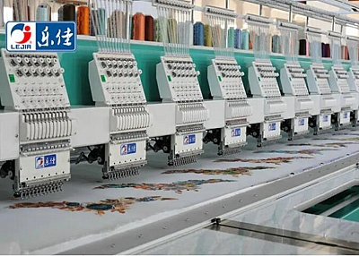 LJ-1212 High Speed 12 Heads Computer Embroidery Machine