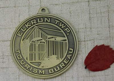 Tourism Bureau Custom Medals