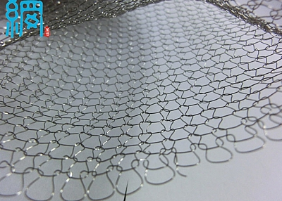 Wrapshield double layer knitted wire mesh