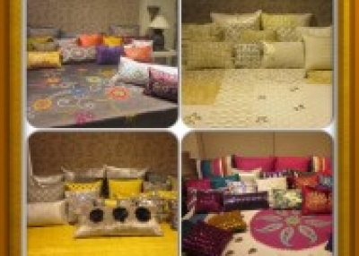 Bed and table linen, decorative home accessories