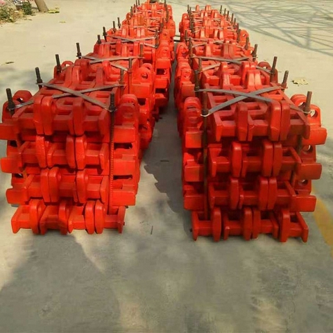 Chinese Forging Gear Track Coal Mine Conveyor