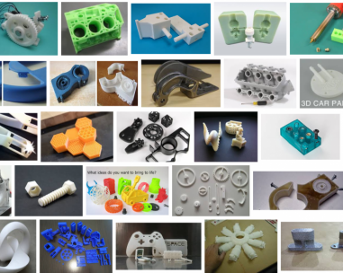 African mining, via 3D printing the spare parts always working