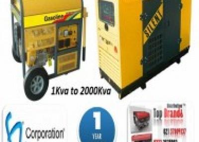 Power Generators 1kva to 12.5kva and 15kva to 2000kva  by  F.Z.Corporation