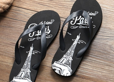 customized flip flops