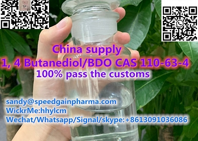 China supply 1, 4 Butanediol/BDO CAS 110-63-4,whatsapp:+8613091036086