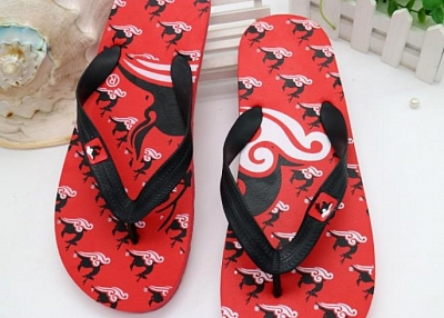 custom imprint flip flops