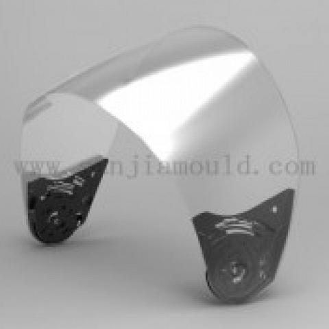 highly break resistant helmet viosrs / lens / shield
