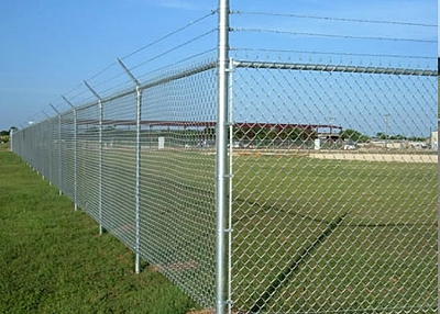Galvanized and PVC Coated Chain Link Mesh