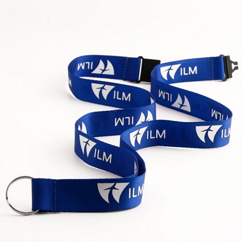 Blue Lanyards for ILM