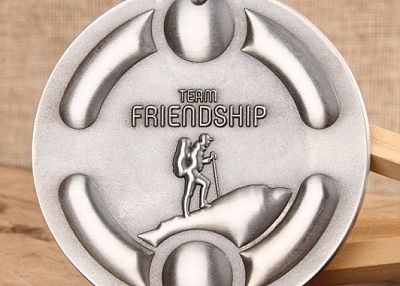 3D Team Friendship Custom Medals