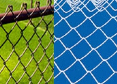 Brown Coated Steel Fence