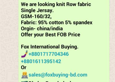 Fabric: RAW Single Jersey lackra
