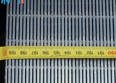 Stainless steel profile screens sieves flat panels