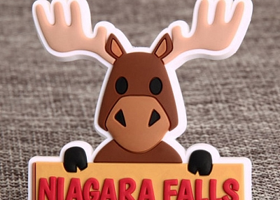 Niagara Falls Elk PVC Magnet