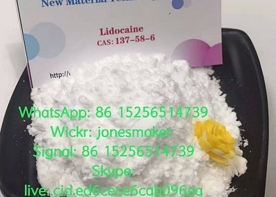 High quality lidocaine cas 137-58-6 with large stock and low price