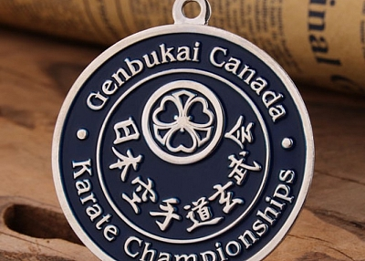 Karate Championships Race Medals