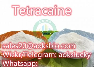 Factory Supply Top Quality Tetracaine Powder 94-24-6 Tetracaine Base Tetracaine Hydrochloride