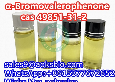 cas 49851-31-2 2-Bromo-1-phenyl-1-pentanone 498514-31-2 China supplier safe delivery to Russia