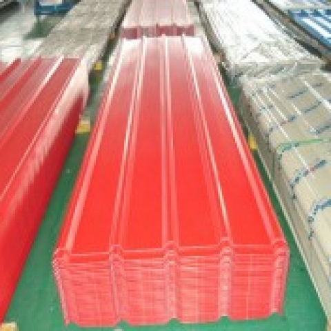 color coated steel sheet corrugated roofing sheet