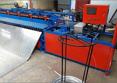 Semi-Automatic Chain Link Fence Mesh Machine