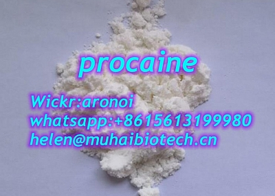 Procaine cas 59-46-1 procaine powder procaine supplier local anesthetic procaine best price