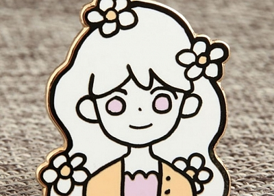 Custom Doll Enamel Pins