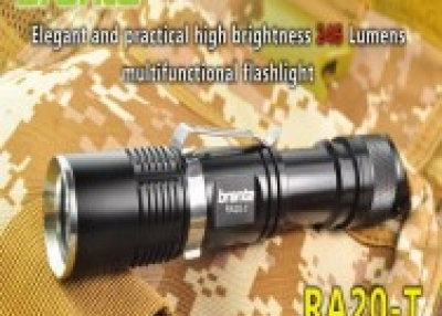 Super bright LED flashlight for outdoor use