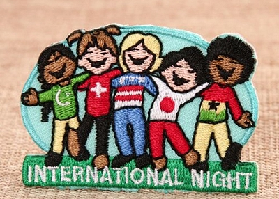 Internation Night Cheap Patches