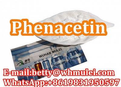Cas:62-44-2 factory phenacetin phenacetin powder favorable price safe delivery