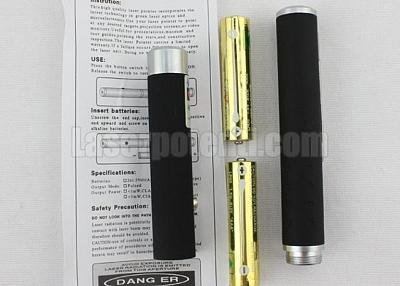 Il puntatore laser con l'esterno in metallo
